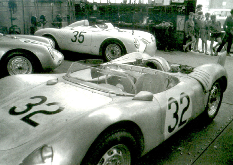 Vintage Roadsters at LeMans